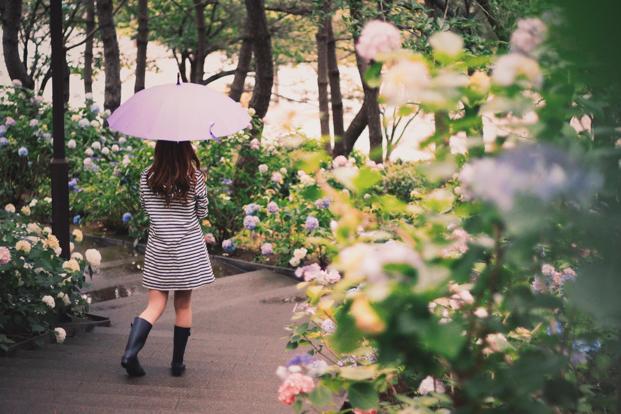 雨の日でもHAPPY♡かわいいレインブーツコーデ紹介