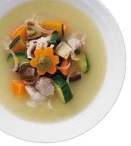 【毎日みそしる】夏野菜の豚汁と夏野菜をふんだんにつかったヘルシーレシピ2品