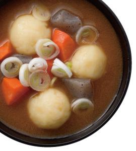【毎日みそしる】じゃが芋団子のみそ汁とじゃがいもを使った付け合せ2品