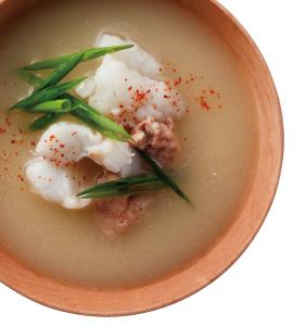 【毎日みそしる】かわはぎと青ねぎのみそ汁と長芋ご飯と辛子酢みそ和えで朝ご飯