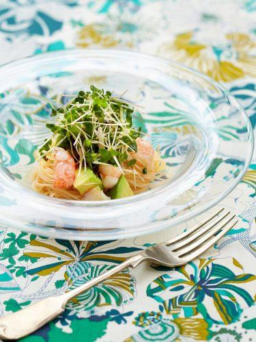 【レシピ】スプラウトとアボカド・えびの冷製パスタ♡スープグラタン♡フルーツケーキ♡