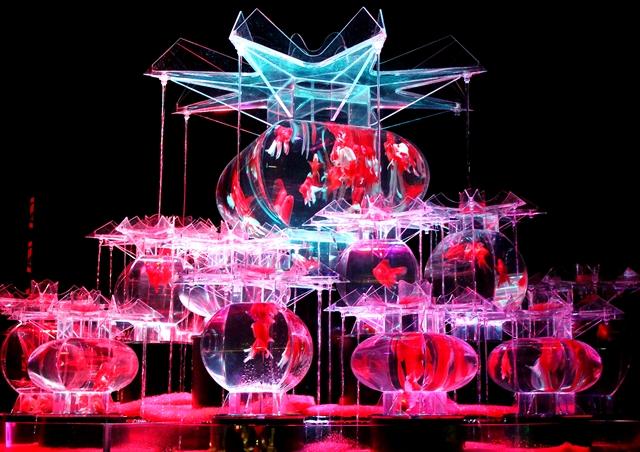 【東京・石川・大阪】金魚の艶♡アートアクアリウムが今年も開催!
