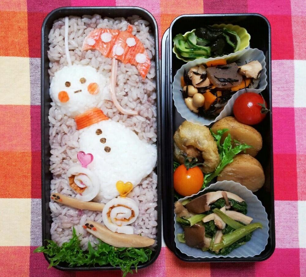 【デコ弁当】夏の日にぴったりのかわいいお弁当で心も体も健やかに♡