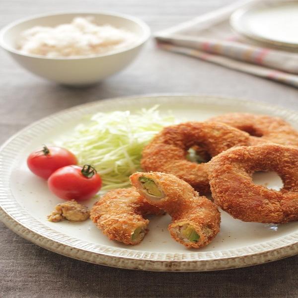 【レシピ】アボカドと豚肉のリングフライとオシャレ重ね蒸しに彩り豊かな肉巻き♡