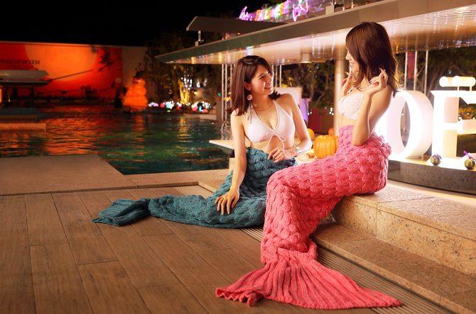 美肌効果のある温泉や人魚になれるスパあり♡大人がくつろげるスペース『神戸みなと温泉 蓮』