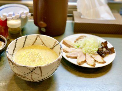 """絶品の卵かけご飯と、元祖""""山頭火""""の味を受け継いだ塩らーめんが味わえる『風来居』"""