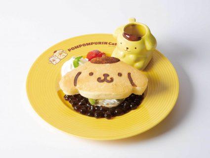 【タピオカ】パンケーキにまで!?ポムポムプリンカフェにタピオカ登場!